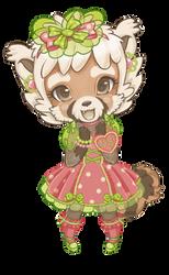 red panda by cgart4u