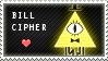 Bill Cipher Stamp