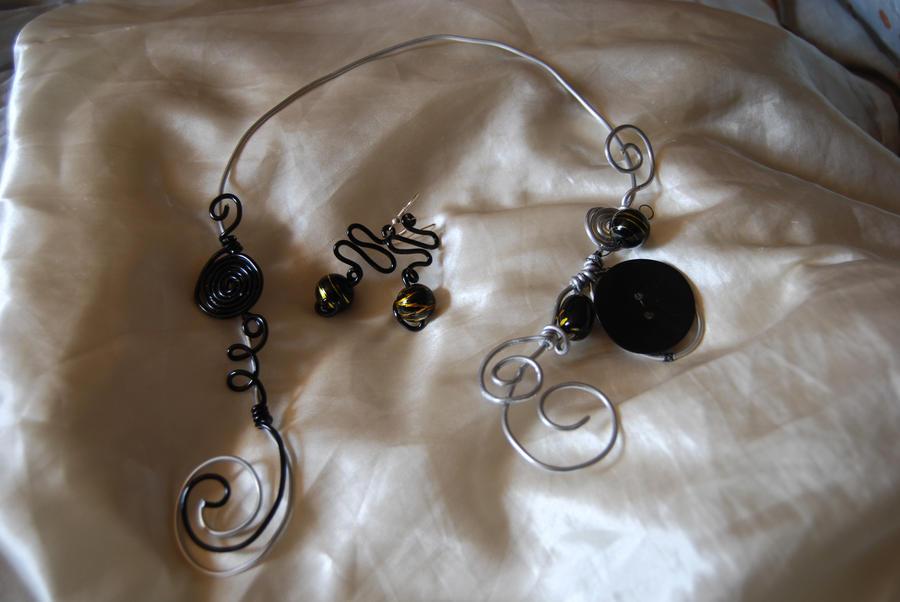 bijoux en fil aluminium by didicook on deviantart. Black Bedroom Furniture Sets. Home Design Ideas