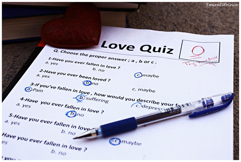 Quiz who love you