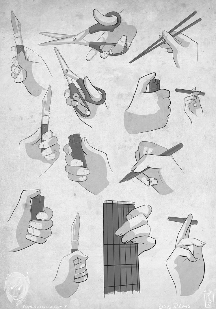 - Reference - Hands by Hagazusa