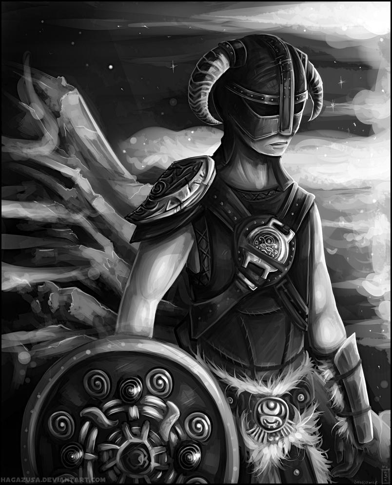 Dragonborn by Hagazusa