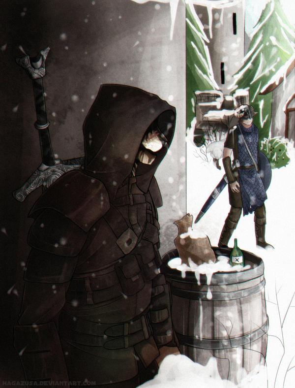 Hide and Seek by Hagazusa