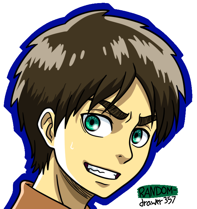 Eren Again by RANDOM-drawer357