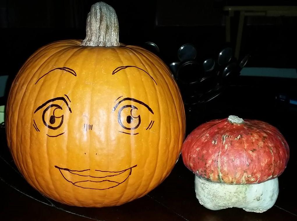 Hinata Pumpkin! by RANDOM-drawer357