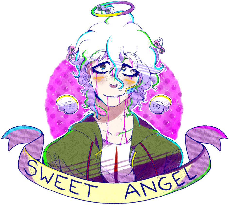 Gift - Sweet Angel by RANDOM-drawer357