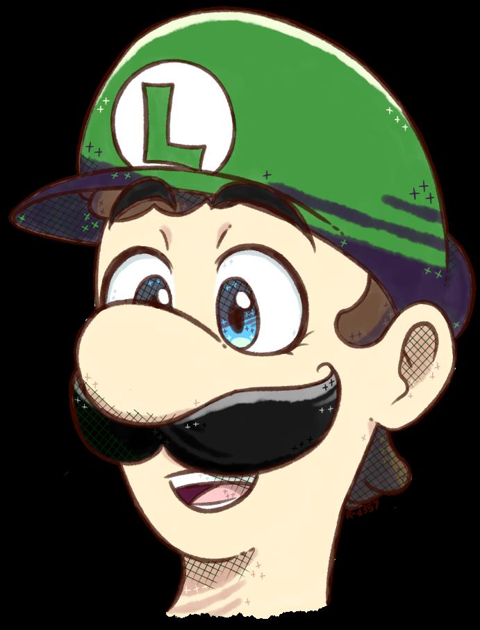 Luigi by RANDOM-drawer357