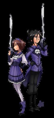 FlareShard's Kaoru and Yuuto