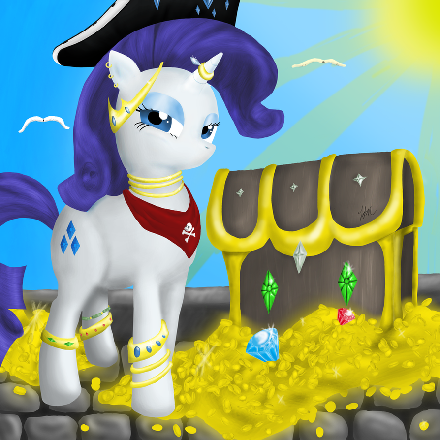 Pirate thread! Pirate_rarity_by_nightgreenmagician-d4g2s42