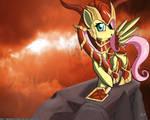 FlutterShyvana the half dragon
