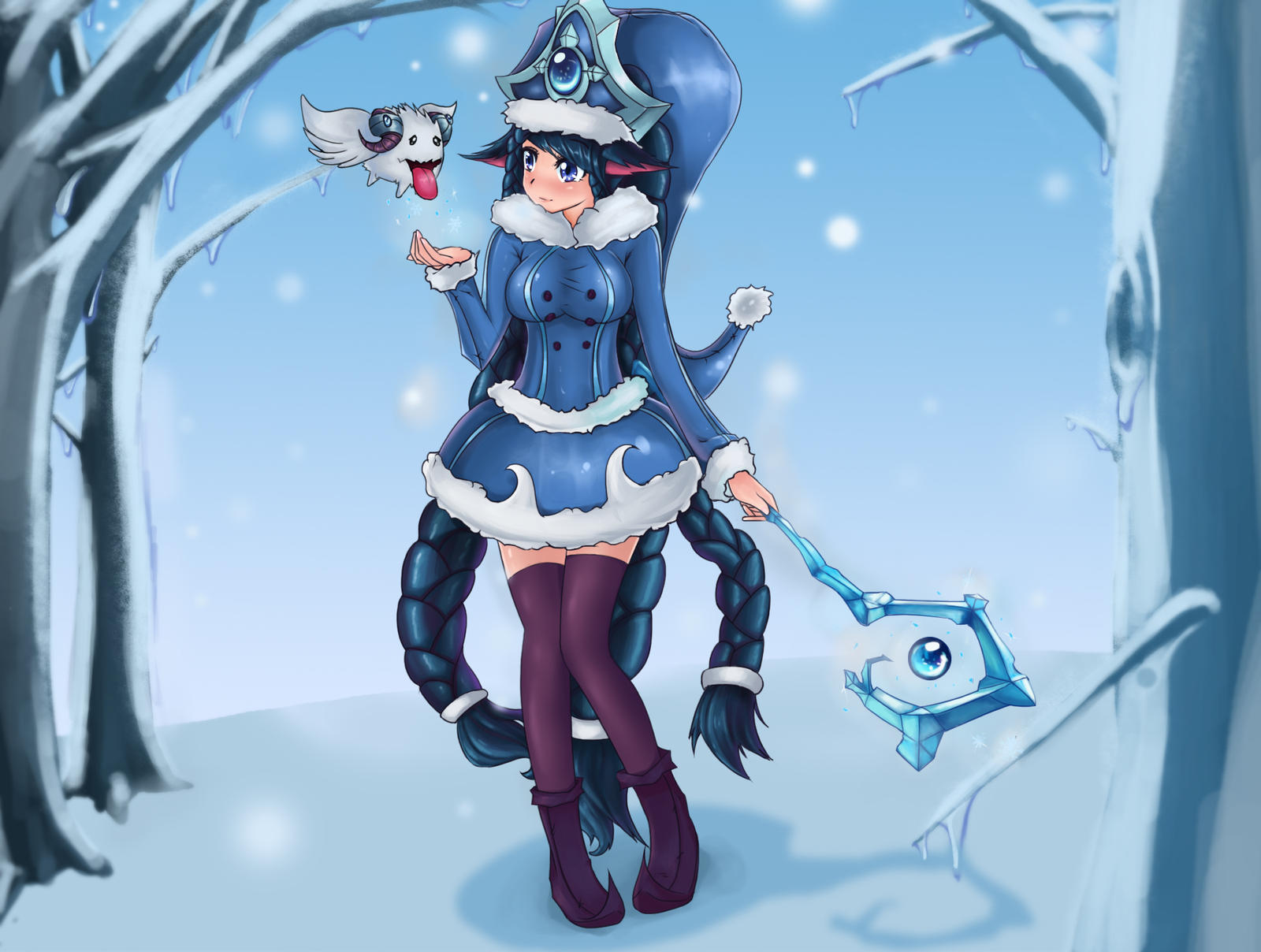 Winter Wonder Lulu by NightGreenMagician on DeviantArt