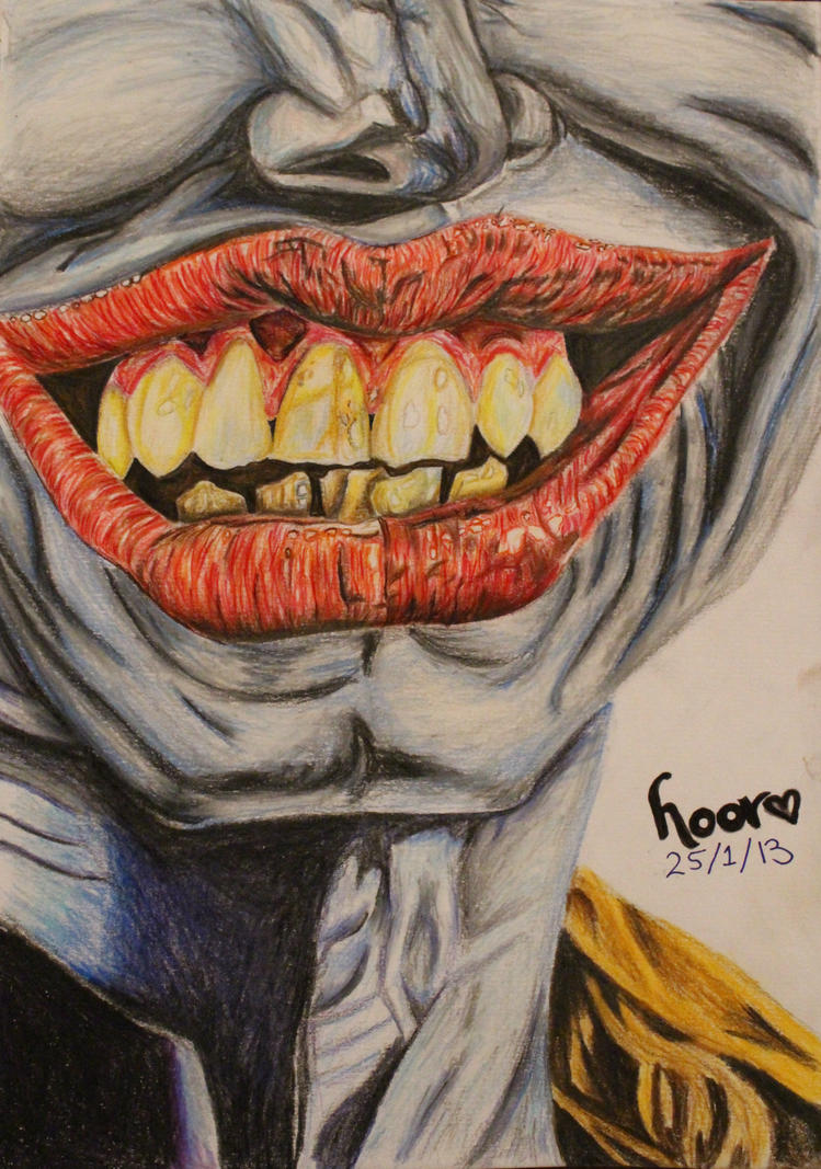 The Joker - Colour Pencils by Epic-Stuff