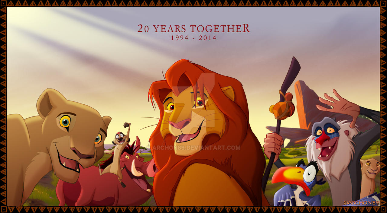 The Lion King 20th Anniversary by Archon89