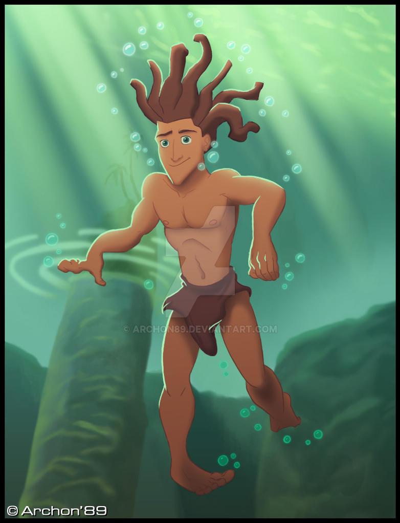 Tarzan by Archon89