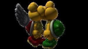 Koopa Paratroopa and Koopa Troopa Kiss