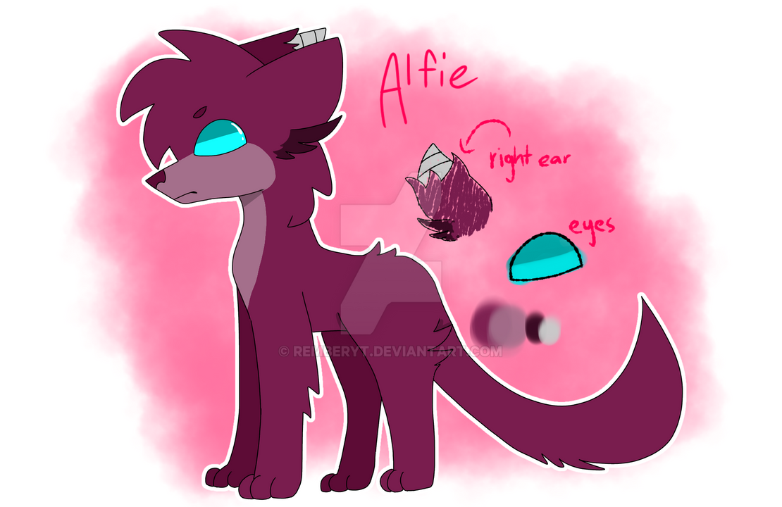 Alfie reference sheet by PapyDreemurr