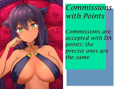 Commissions whit Points DA