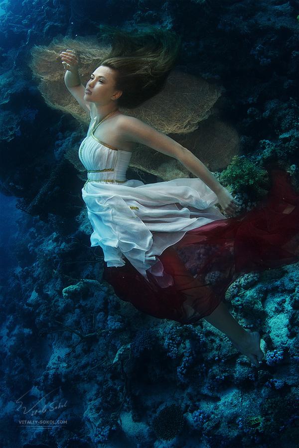 Underwater Dance. Renaissance by Vitaly-Sokol