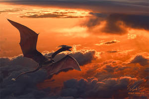 Dragon's Tale. Sunrise by Vitaly-Sokol