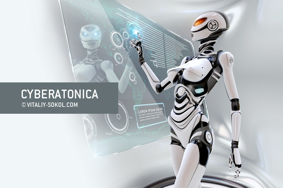 CYBERATONICA by Vitaly-Sokol