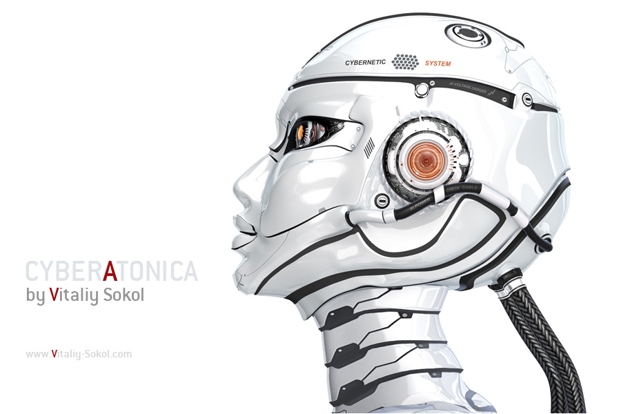 Robot-side-view-head 02-s by Vitaly-Sokol
