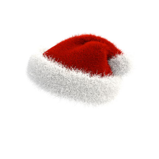 Christmas Santa Hat PNG 180 degrees on transparent by ...