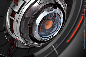 Cyber Eye. Blender 2.73. Cycles.