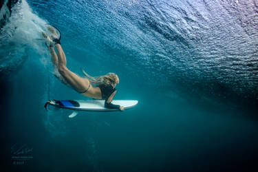 Under The Wave by Vitaly-Sokol