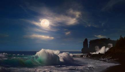 Moonlight by Vitaly-Sokol