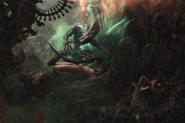 Dragon's Tale. Alien by Vitaly-Sokol