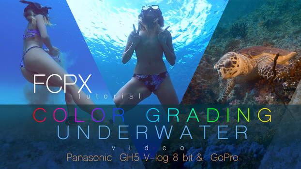 How I grade underwater videos