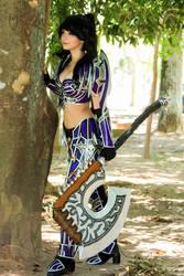 Warrior World of Warcraft Cosplay