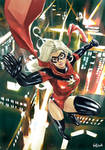 Ms Marvel in Big city nights