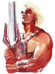 MOTU Portrait Sketches: HE-MAN