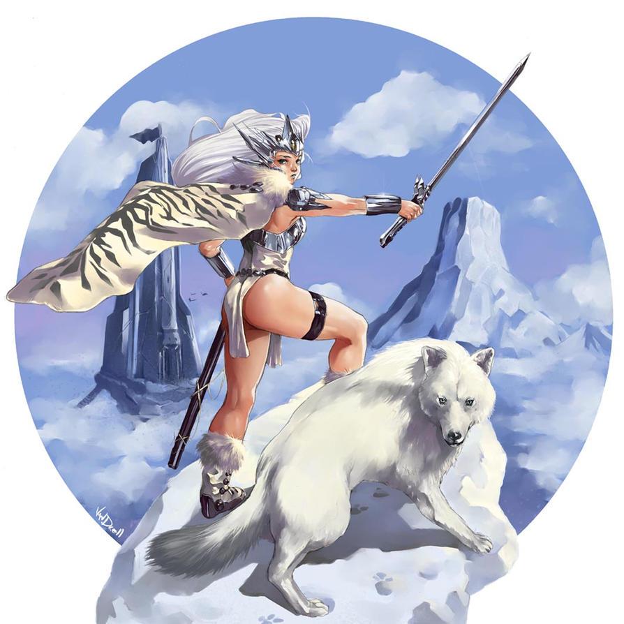 barbarian queen art - photo #19