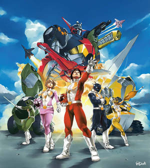 Big Book Power Rangers