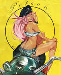 Final fight Poison Pin up