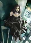 Urban Vampire Lady