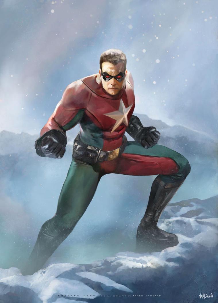 2014- Comrade Hero by Vandrell