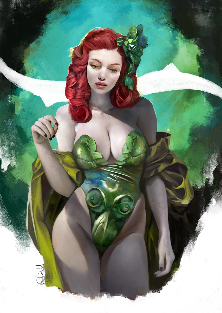 2016 - POISON IVY PINUP by Vandrell