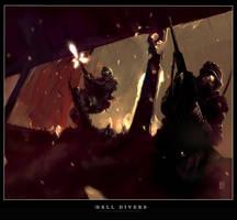 Hell Divers by ukitakumuki