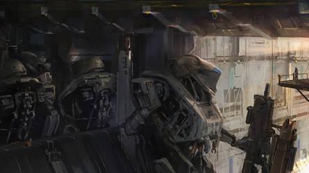 Titans: Blue Force by ukitakumuki
