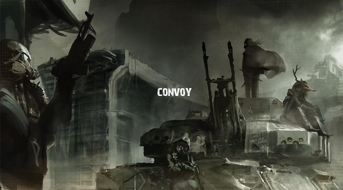 Convoy by ukitakumuki