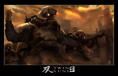 TWIN SUNS by ukitakumuki