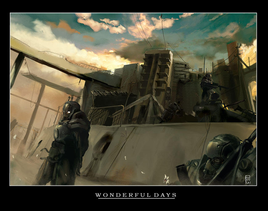 Wonderful Days by ukitakumuki