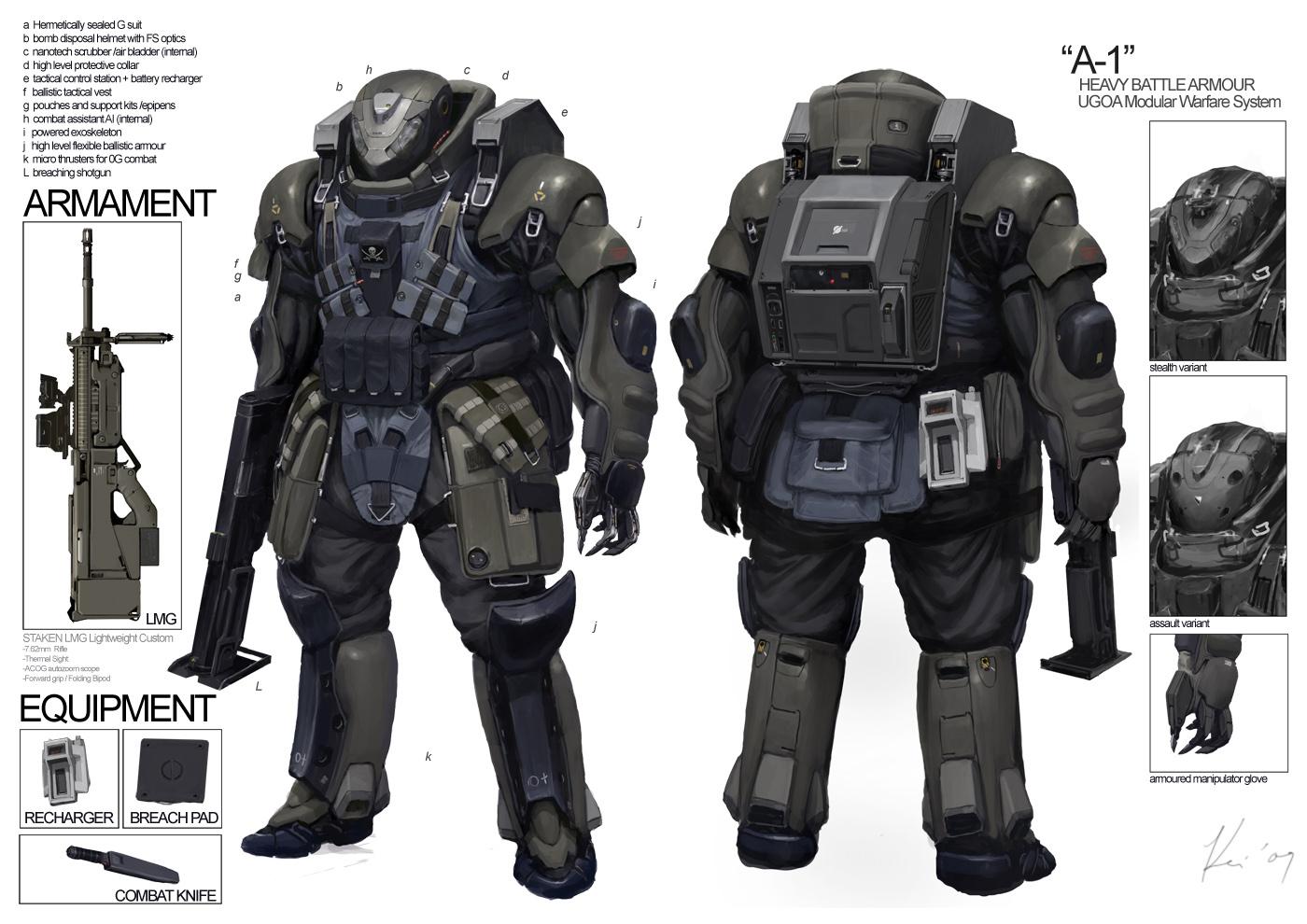 Space Vagabonds: Assaulter