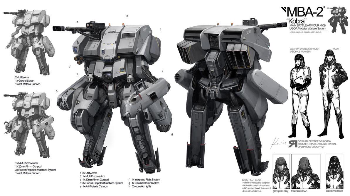 Space Vagabonds: Battlesuit by ukitakumuki