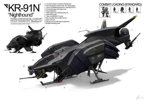 Space Vagabonds: Nighthound