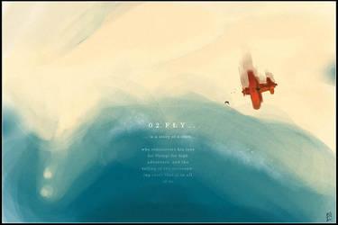 0 2 F L Y -The Story of a Crow by ukitakumuki