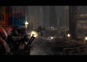 Front Mission: Dockfight by ukitakumuki